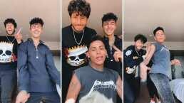 Sebastián Yatra se une a Kunno y a Samuel López, los famosos tiktokers, y juntos bailan 'Chica Ideal'