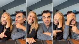 Adrián Uribe y su esposa sacan sus trapitos al sol: ¿Quién es más celoso?