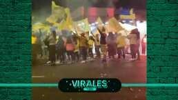 Miguel Herrera llegó a festejos por aniversario de América
