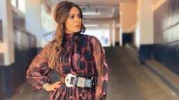 Los looks de Galilea Montijo imponen tendencia con sus elegantes estampados