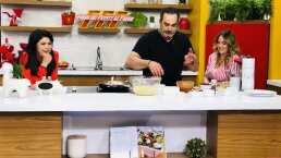 Cocina de hoy: Omar Fierro prepara una pasta italiana para mostrar su talento en la cocina