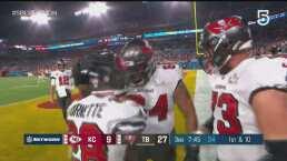 Buccaneers amplío la ventaja sobre Chiefs en el tercer cuarto