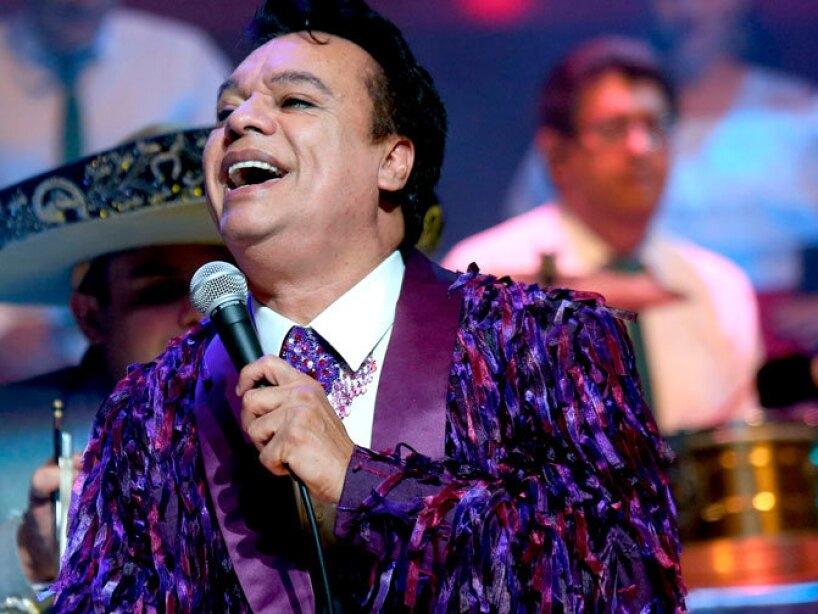 El cantautor, actor, compositor, interprete, musico, productor discografico Juan Gabriel.