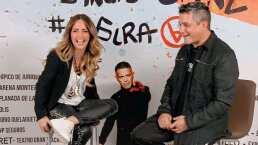 Andrea Legarreta entrevistó a Alejandro Sánz previo a su concierto en Monterrey