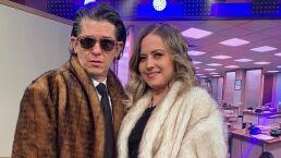 El productor Nino Canún y su novia por primera vez actúan juntos, al estilo de 'La Familia P. Luche'