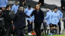 Mourinho y Guardiola llaman a no festejar los goles con abrazos en Premier Legaue