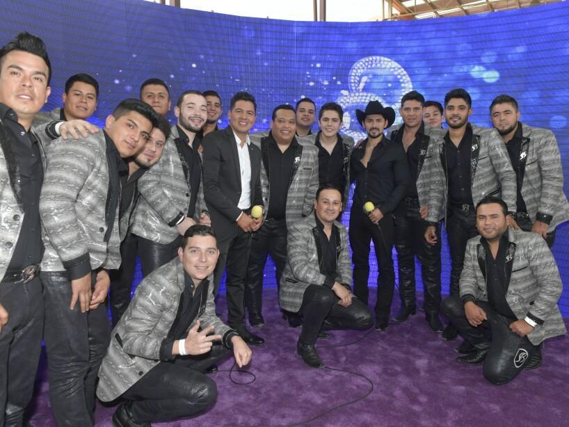 Banda Los Sebastianes en la Alfombra Morada