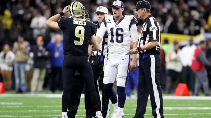 Saints vs Rams - Semana 2 l La última vez que se enfrentaron, en 2018, finalizaron 45-35 en favor de New Orleans y apunta a volver a ser un partido con una cantidad altísima de anotaciones.