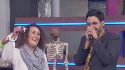 Paco de Miguel se encuentra Miss María Jania, quien inspiró a su personaje de Miss Lety
