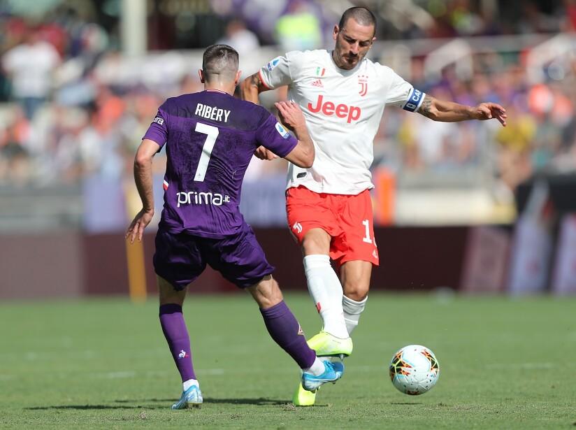 Juventus empata de visita con Fiorentina