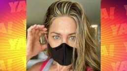 Lasrápidasde Cuéntamelo ya!(Miércoles 1 de julio): Jennifer Aniston invita a la gente a utilizar cubrebocas