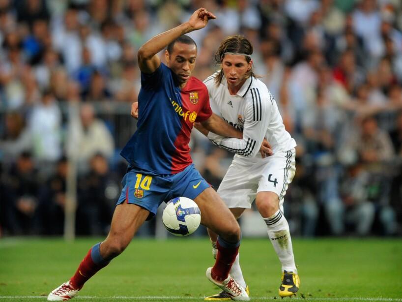 Sergio Ramos, Thierry Henry