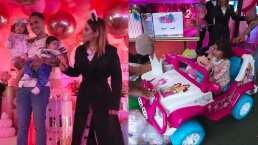 Así disfruto de su lujosa fiesta de cumpleaños Kima, hija de Kimberly Loaiza