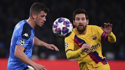 Así le ha ido a Lionel Messi enfrentando equipos de la Serie A | Napoli es uno de los tres equipos italianos a los que el astro argentino no les ha podido marcar.