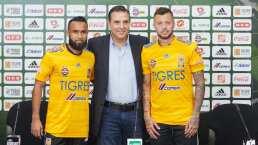 Tigres presenta a sus refuerzos Jordan Sierra y Nico López
