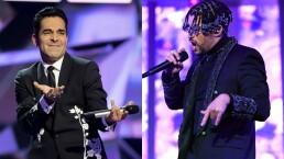 """""""Y me dice papi"""": Omar Chaparro imita a Bad Bunny y así responde el público de ¿Quién es la Máscara 2020"""