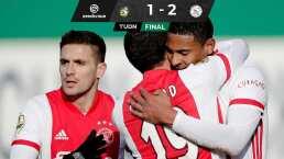 Edson Álvarez tuvo minutos en la victoria del Ajax ante el Fortuna Sittard