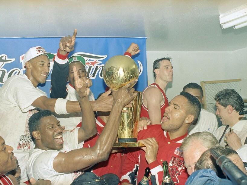 NBA Champs Bulls 1991