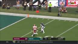 ¡Touchdown de la voltereta para Philadelphia!