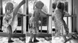 'Así bailan las prrrincesas': Kailani le da clases de baile a su mamá Aislinn Derbez