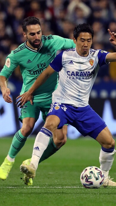 REAL ZARAGOZA VS REAL MADRID
