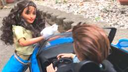 Recrean el intro de la telenovela 'María Mercedes' con Barbies