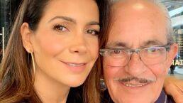 Paty Manterola habla por primera vez sobre la muerte de su padre