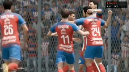 Las Chivas del 'Nene' Beltrán vencieron al América de Gio dos Santos 3-1 en el primer Clásico virtual de la eLiga MX.