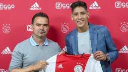 Con este espectacular video, Ajax le dio la bienvenida a Edson Álvarez