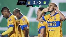 Tigres se lleva el duelo de campeones y abolla la corona 2-0 de León