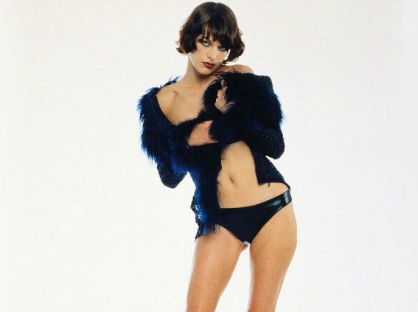 Milla Jovovich se llama Militza Natasa Jovovic, nació en Kiev, Ucrania; el 17 de diciembre de 1975.