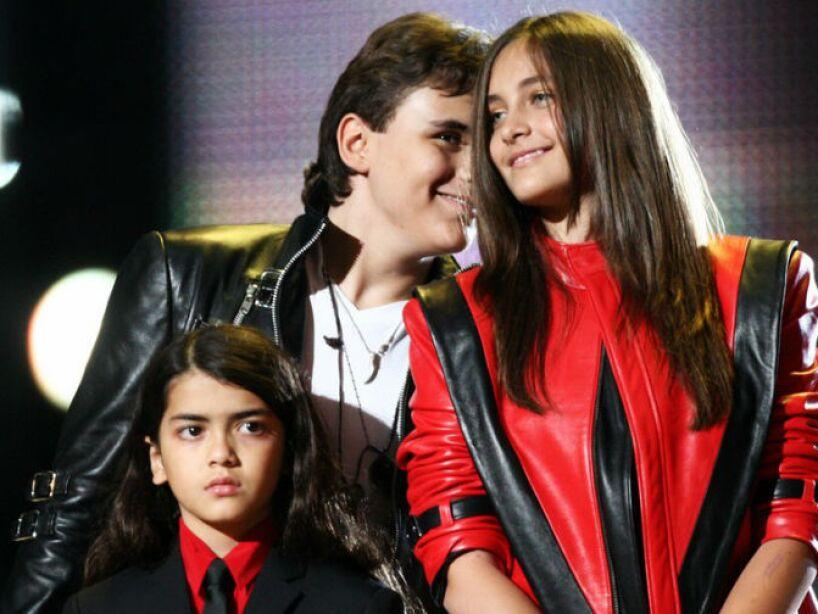 4. Michael Jackson: El Rey del Pop llamó a sus hijos Prince Michael, Prince Michael II y Blanket (cobija).