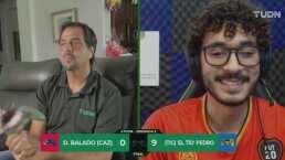 ¡Vagazo! El 'Tío' Pedro goleó 9-0 a Diego Balado y le ganó apuesta