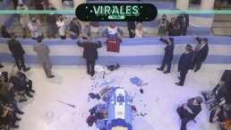 Impactantes imágenes: multitud despide a Diego Maradona