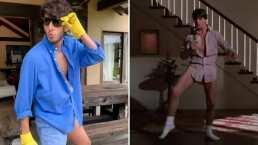 Sebastián Yatra le entra al 'Risky Business Challenge' y baila como Tom Cruise