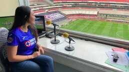Melissa es la nueva voz del Cruz Azul en el Azteca