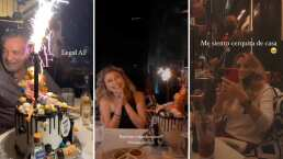 Fernanda Castro presume su cena de cumpleaños junto a sus papás, Angélica Rivera y El Güero Castro