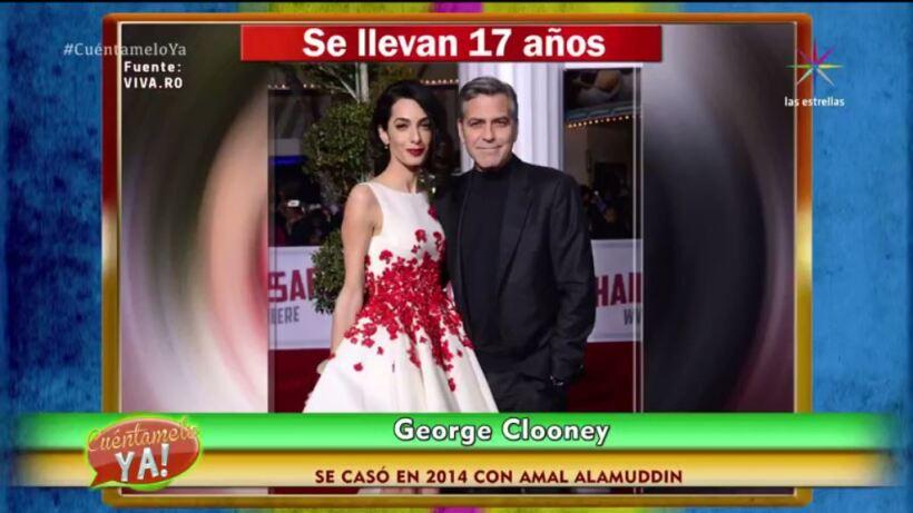 VIDEO: ¡Las parejas de famosos a las que no les importó la edad!