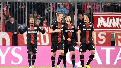 Con doblete de Leon Bailey al 10 y al 35, Bayer Leverkusen se impone 1-2 en su visita al Bayern Múnich.