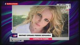 Britney Spears pierde demanda contra su padre, no volverá a cantar mientras él controle su carrera
