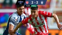 Resumen | Pachuca rescata el empate 2-2 ante Necaxa en el Victoria