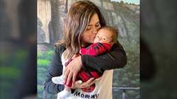 Mariana Echeverría cae rendida con la forma en que su hijo le dice adiós: 'Lo amo sin control'