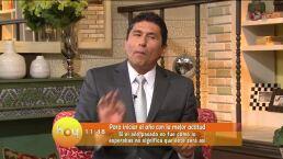 César Lozano: Iniciar el año con la mejor actitud