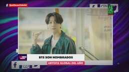 BTS es nombrado Artista Global del Año