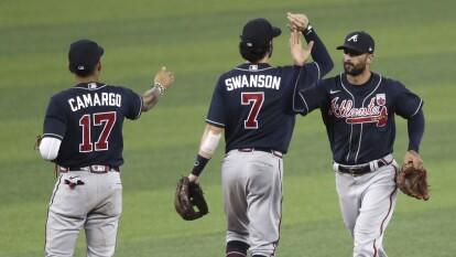 Los Atlanta Braves lideran la división del este en la Nacional con un marcador 14-11.