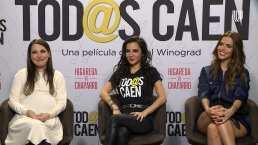 Martha Higareda confiesa que el papel de Omar Chaparro surgió tras haber conocido a un 'patán'