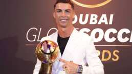 Cristiano Ronaldo luce joya, y no precisamente futbolística