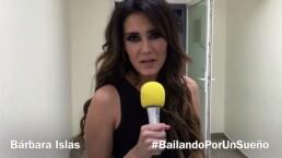 Bárbara Islas te invita a ver Bailando por un Sueño