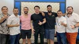Horacio Palencia prepara sorpresa con Los Buitres de Culiacán, Simón León y Jesús Caballero