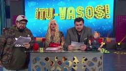 Los 'Tu-vasos' (sin censura): Danna Paola imita a Belinda en lo peor de la semana